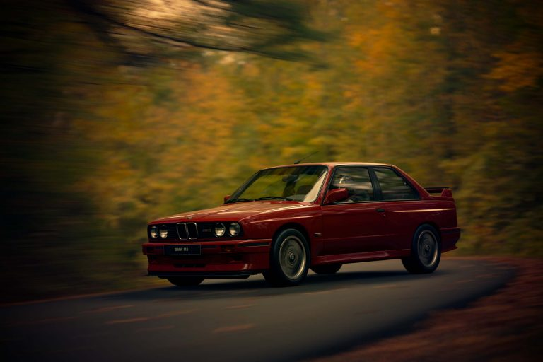 BMW M3 bosque